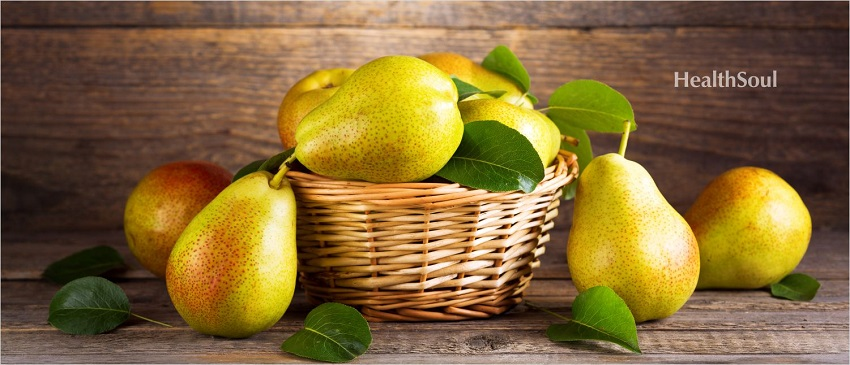 4 Health Benefits of Pears