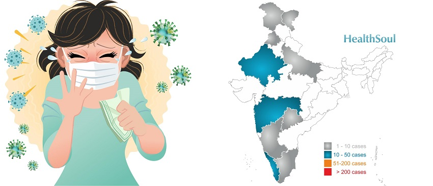 Coronavirus in India: Cases update and testing Sites