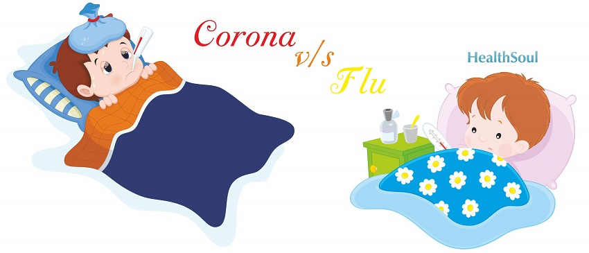 Corona virus vs Flu
