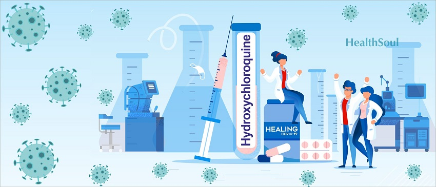 Hydroxychlorquine and  covid   banner