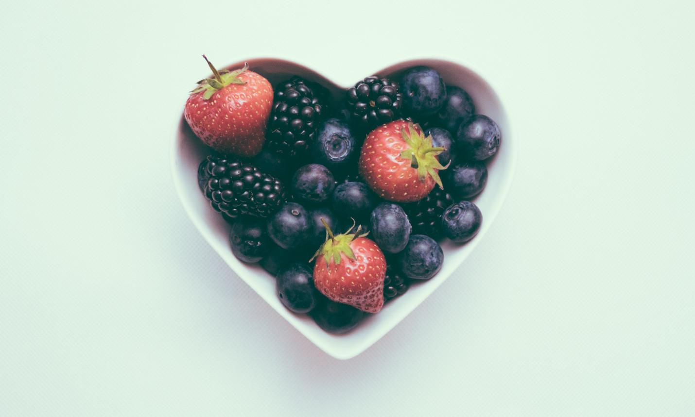 Zinc cardiac health berries