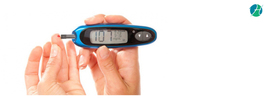 Small thumb diabetes mellitus banner