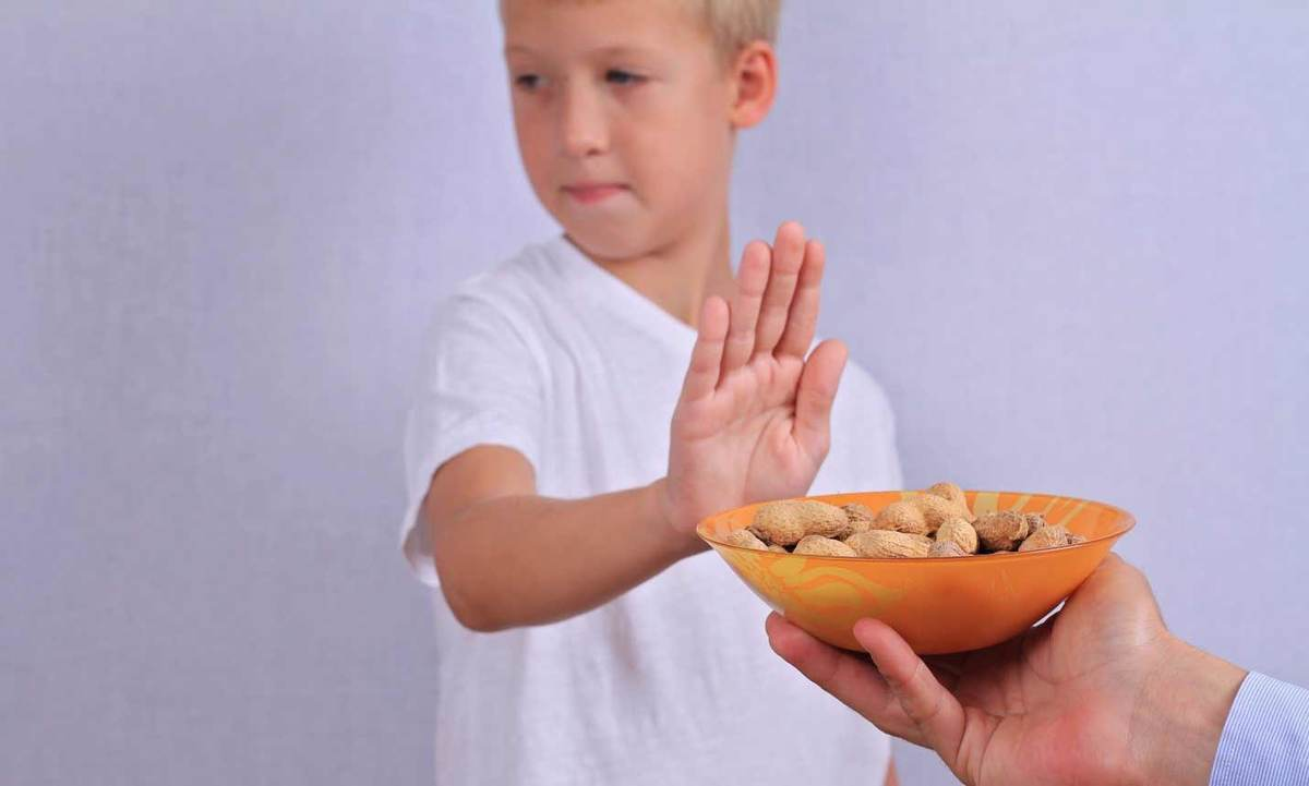 Child peanut allergy header