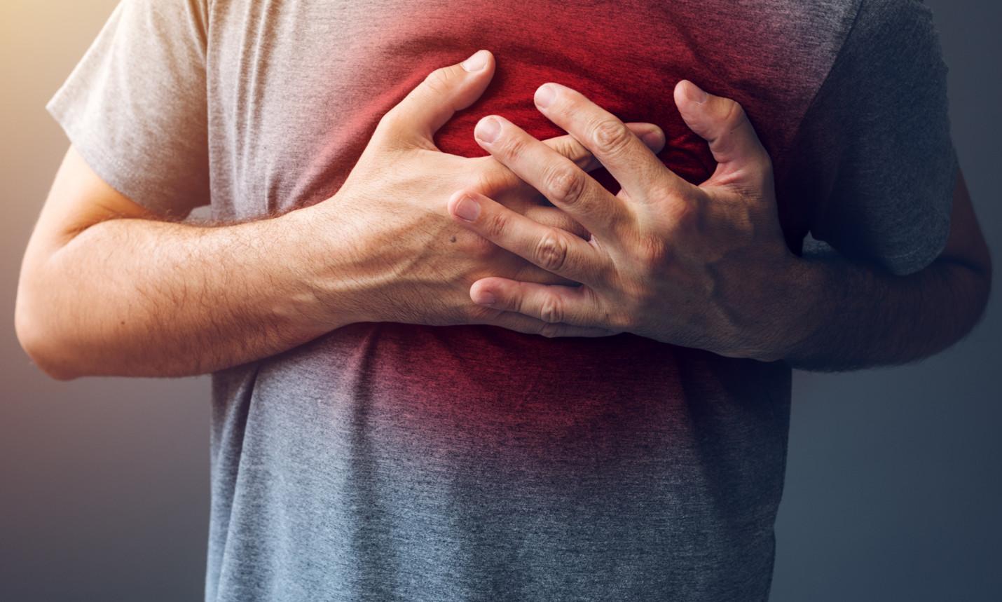 What is cardiac arrest chest pain