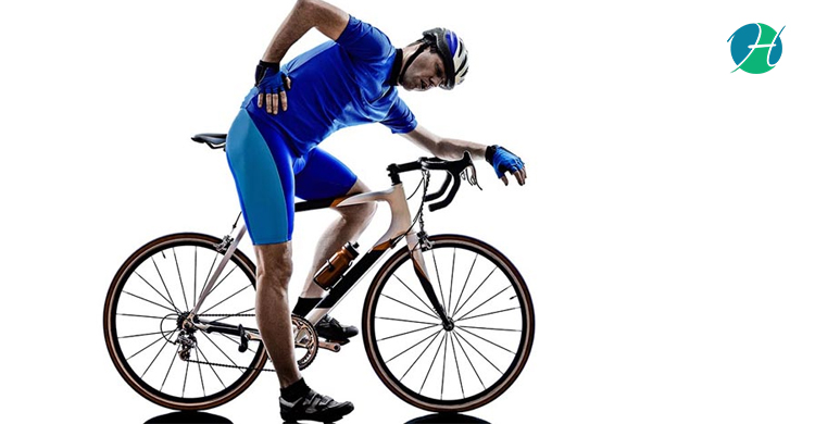 How to prevent back injuries in bicyclists banner