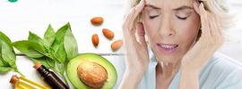 Small thumb natural treatment for headache banner