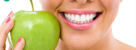 Small thumb natural treatment for dental health banner