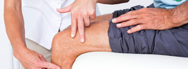 Small thumb massage therapy for osteoarthritis of the knee