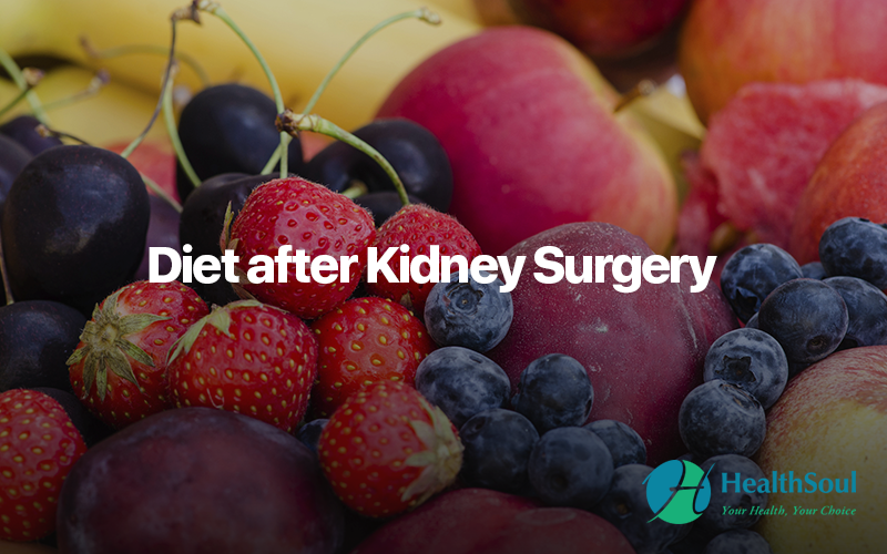 Diet after kidney surgery