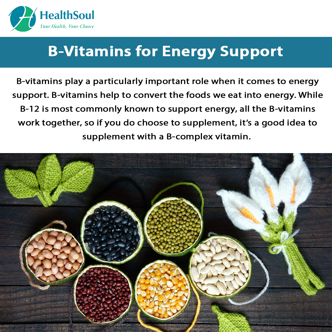 B-Vitamins for Energy Support