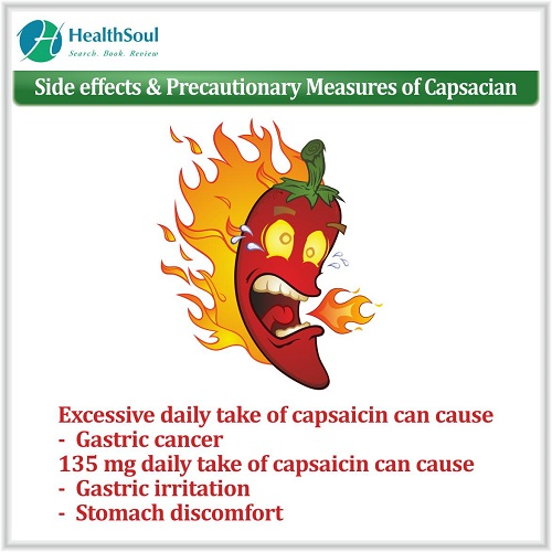 Side Effects & Precautionary Measures of Capsacian | HealthSoul