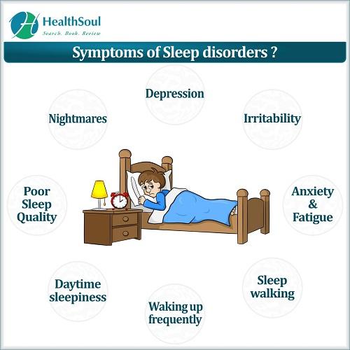 Symptoms of Sleep disorders?   HealthSoul