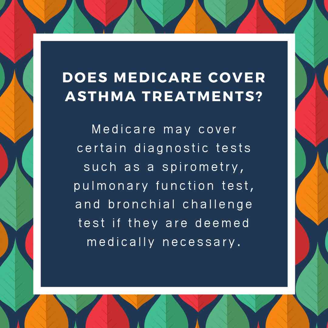 Does medicare cover Asthma treatments?