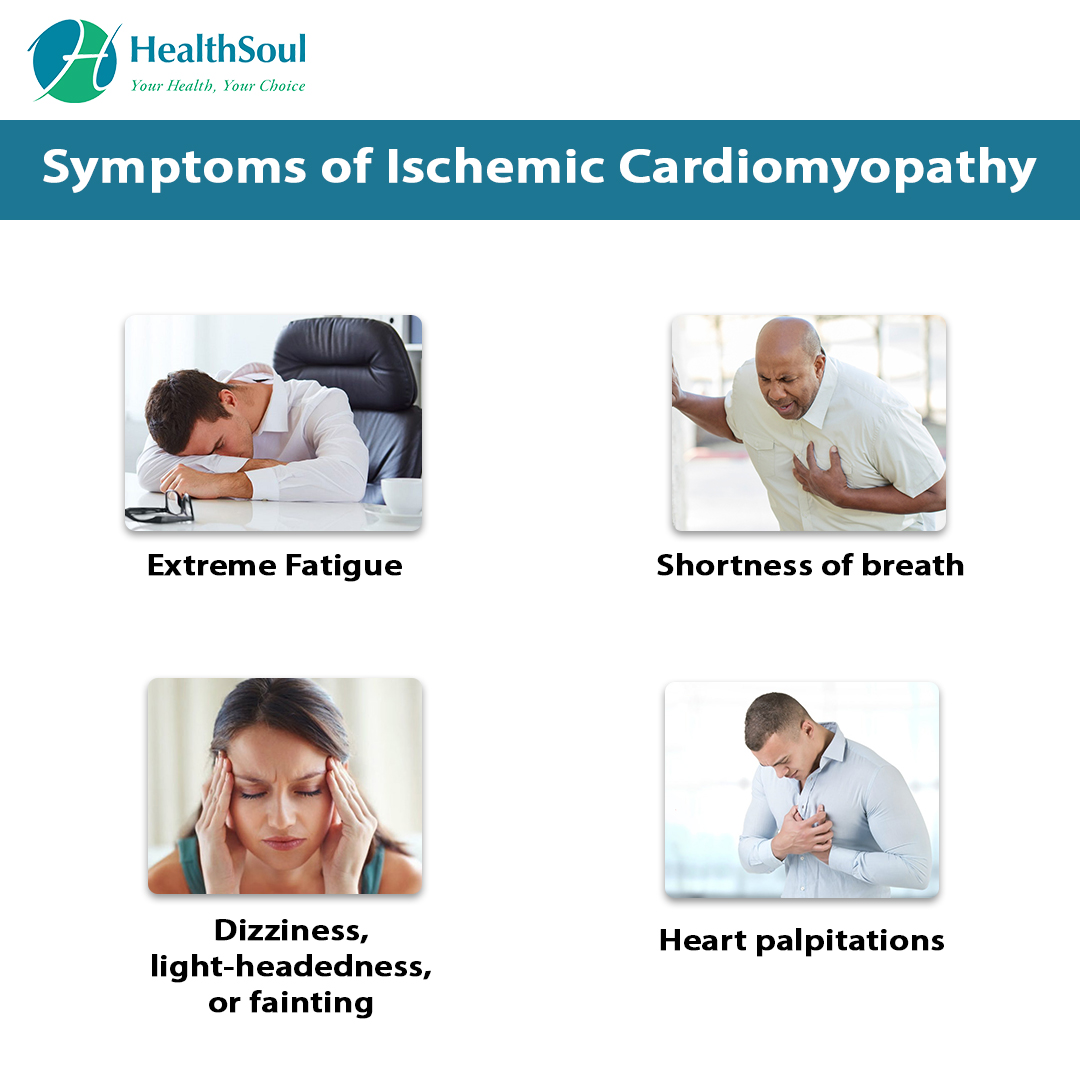 Symptoms of Ischemic Cardiomyopathy