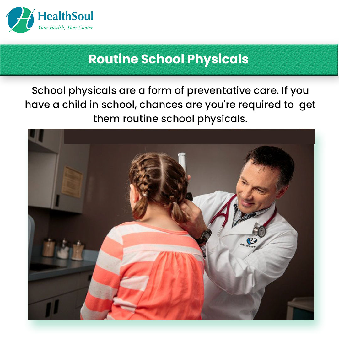 Routine School Physical