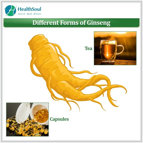 Different Forms of Ginseng | HealthSoul