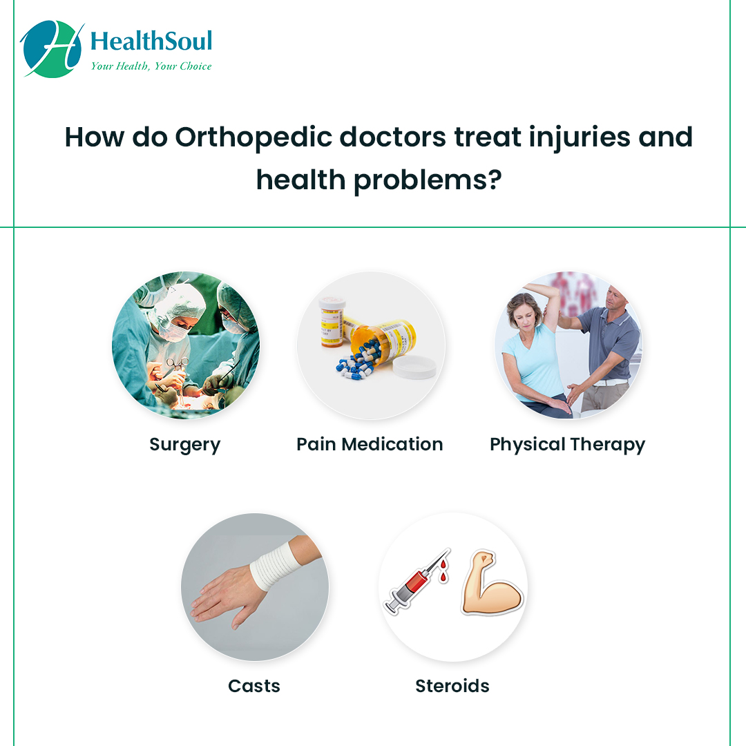 How do Orthopedic doctors treat injuries and health problems?