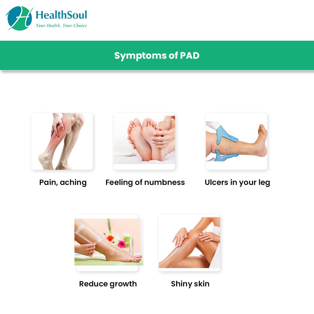 Symptoms of PAD
