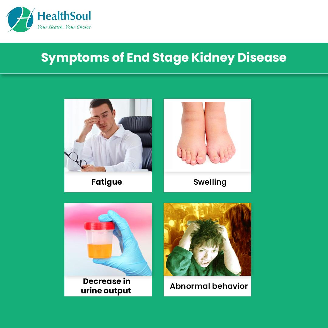 Symptoms of End Stage Kidney Disease