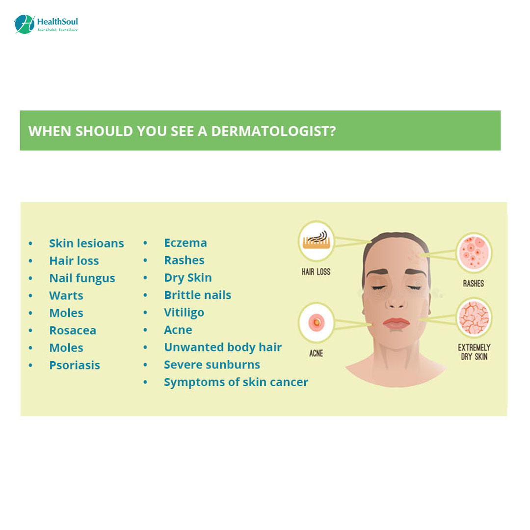 When should you see a Dermatologist?