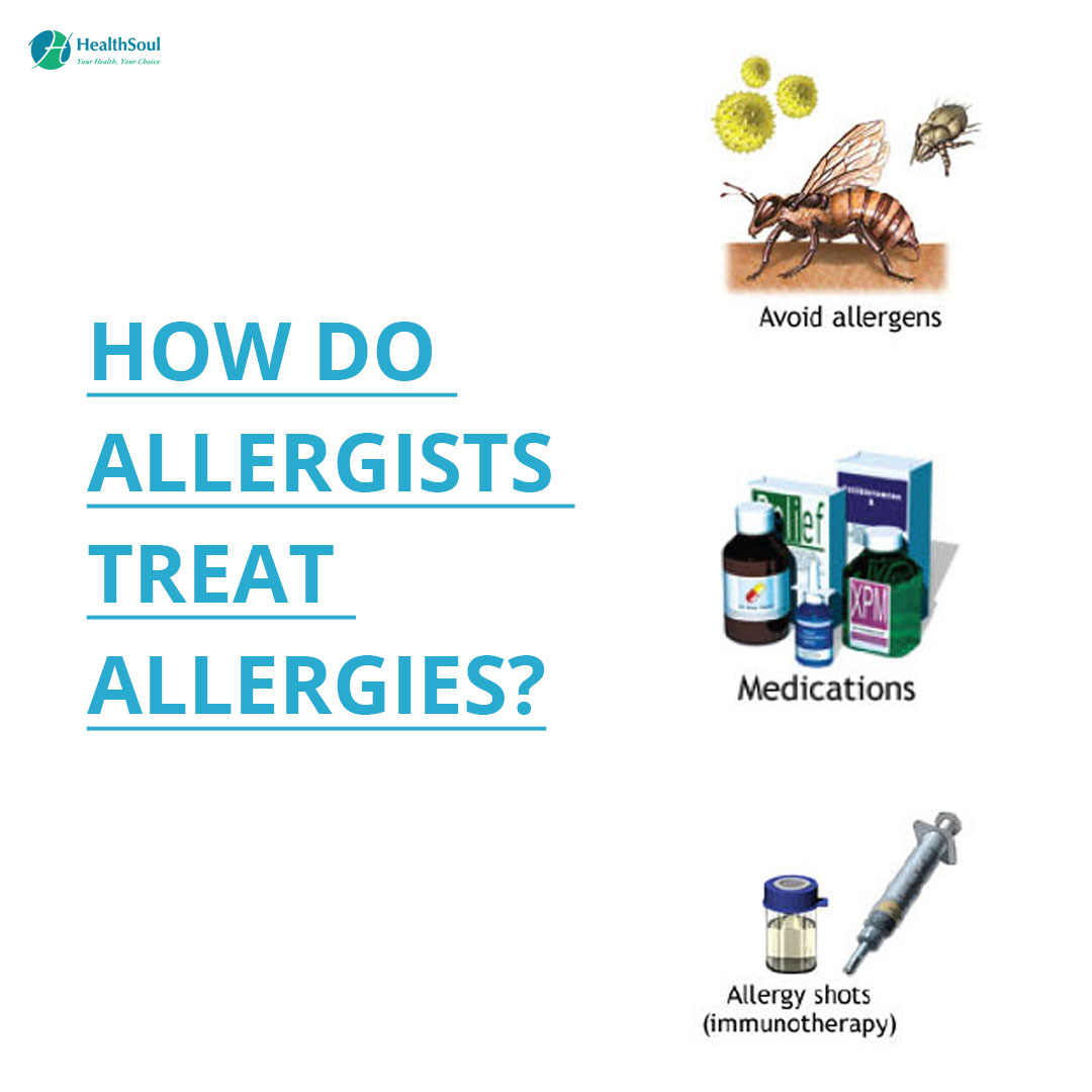 HOW DO ALLERGISTS TREAT ALLERGIES