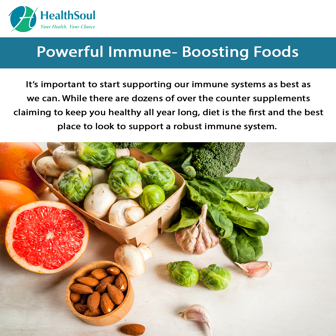 Powerful Immune-Boosting Foods