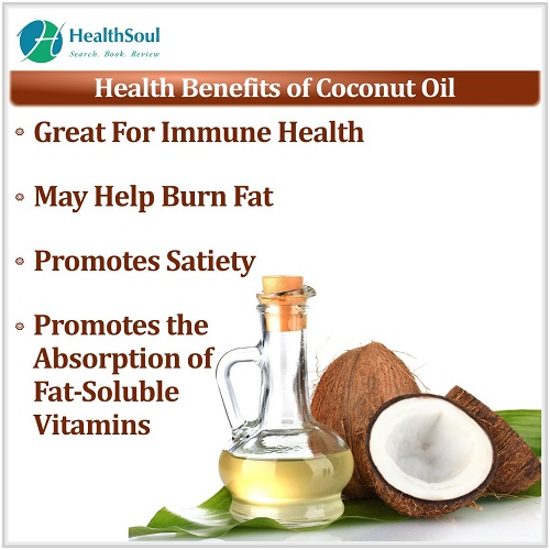 Health Benefits of Coconut Oil | HealthSoul