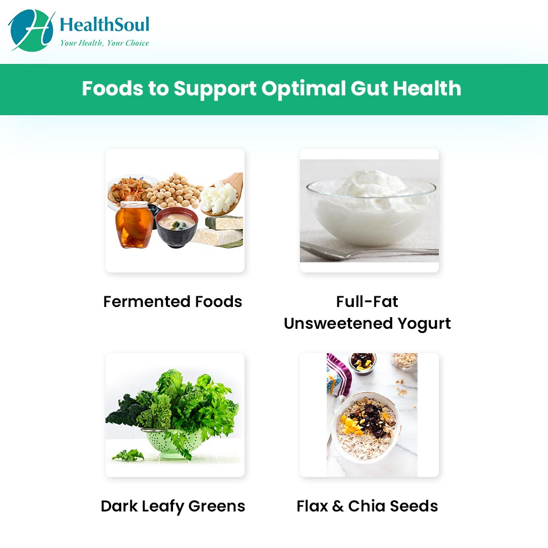 Foods to support optimal gut health