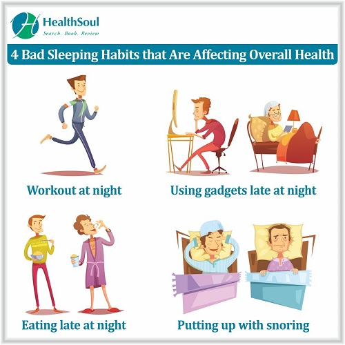 4 Bad Sleeping Habits that are affecting overall Health