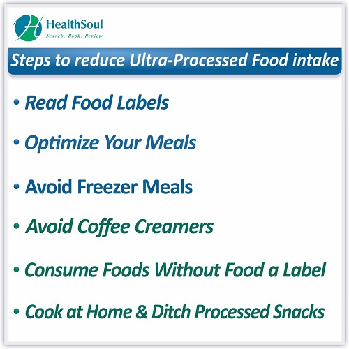 Steps to reduce Ultra- Processed Food Intake | HealthSoul