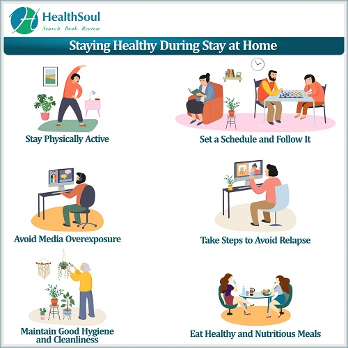 Staying Healthy During Stay at home | HealthSoul