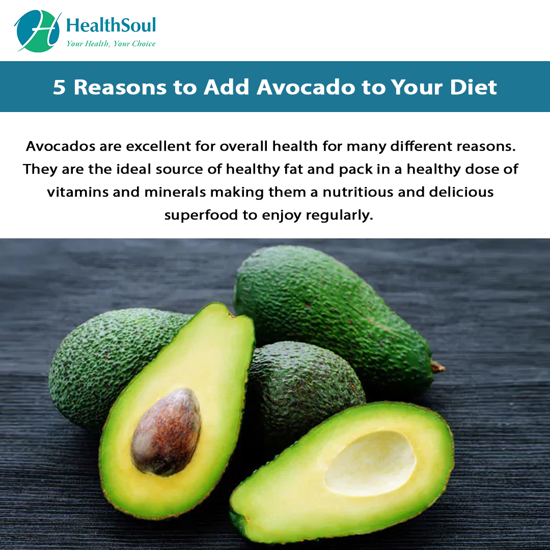 5 Reasons to Add Avocado to your Diet | HealthSoul