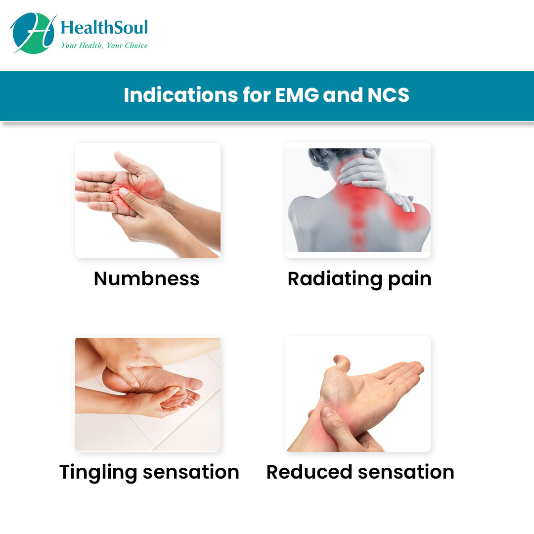 Indications for EMG and NCS