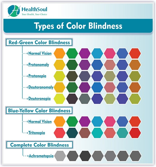 Types of Color Blindness | HealthSoul