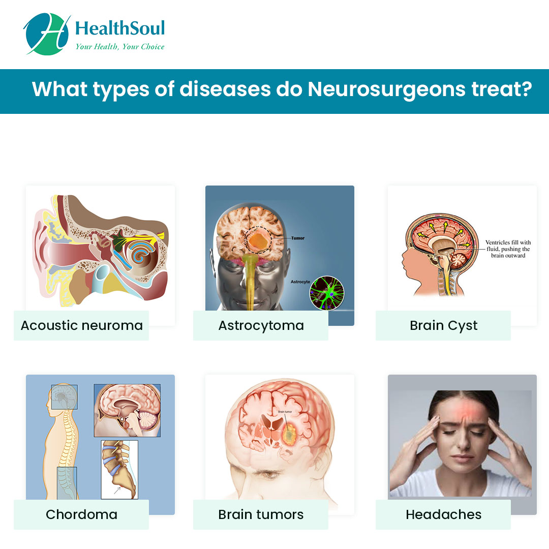 What types of diseases do Neurosurgeons treat?