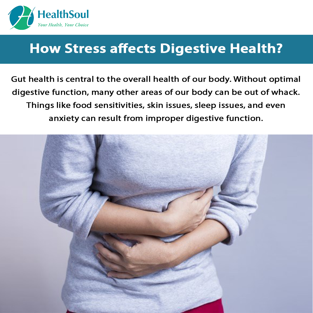How Stress Affects Digestive Health?