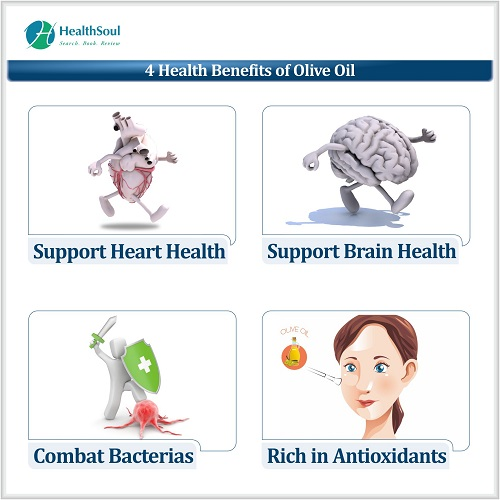 4 Health Benefits of Olive Oil | HealthSoul