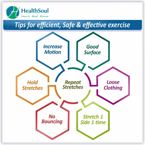 Tips for Efficient, Safe & effective exercise | HealthSoul