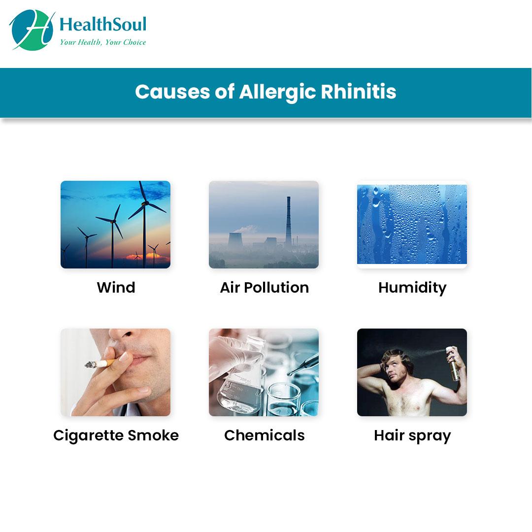 Causes of Allergic Rhinitis