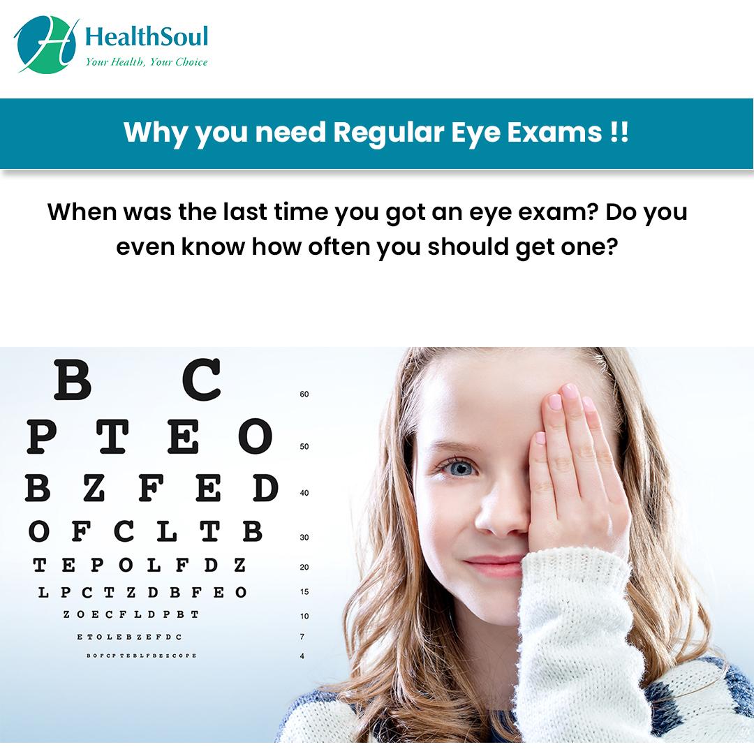 Why you need Regular Eye Exams!!
