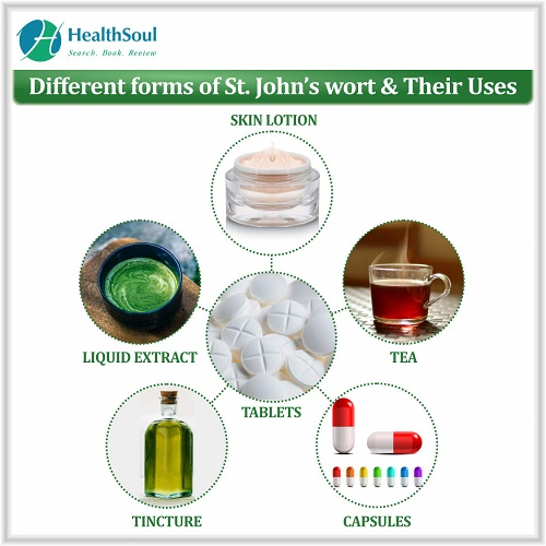 Different forms of St. john's wort & Their Uses | HealthSoul
