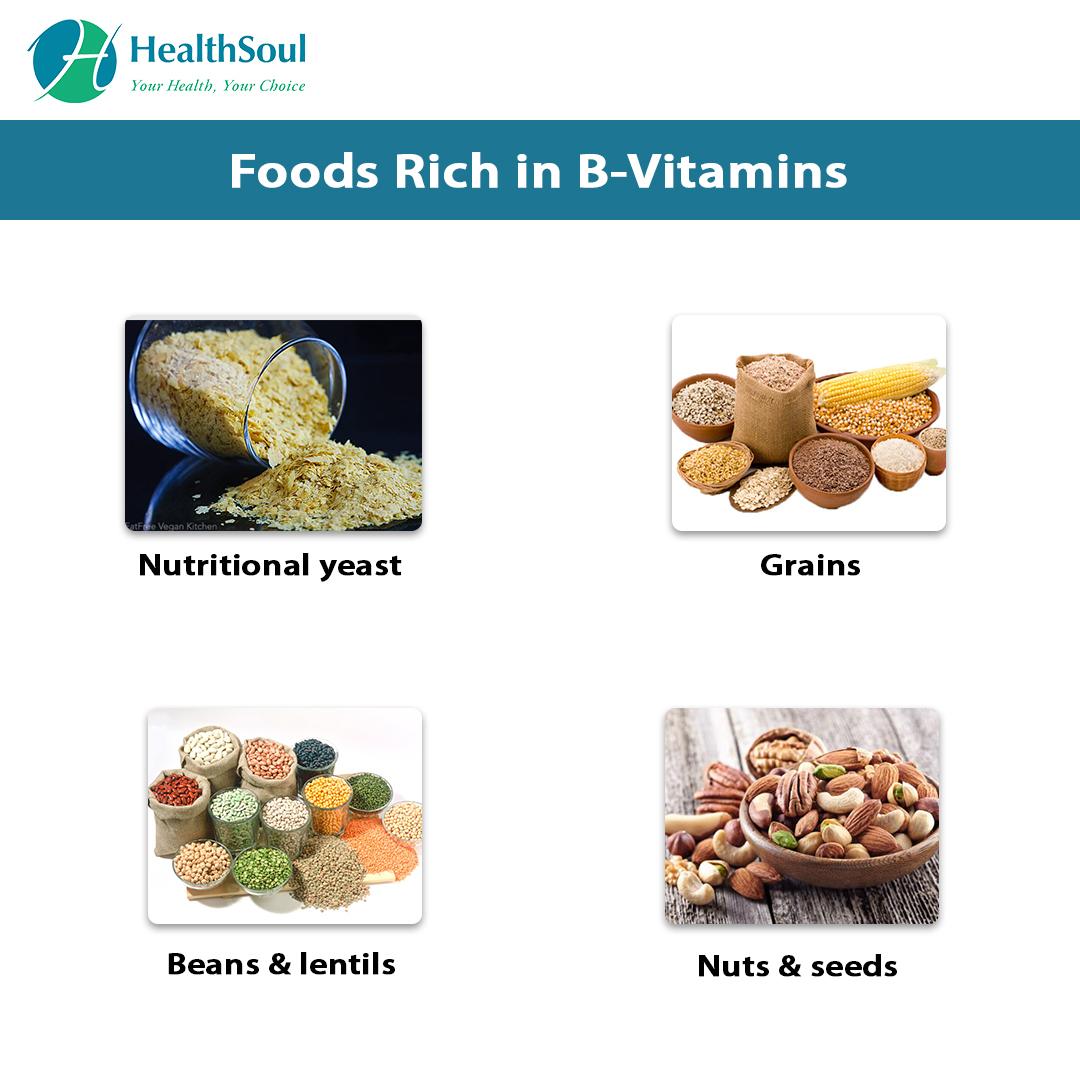 Foods Rich in B-Vitamins