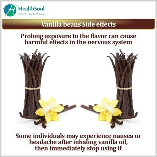 Vanilla beans Side effects | HealthSoul