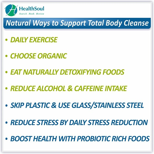 Natural Ways to Support total Body Cleanse | HealthSoul