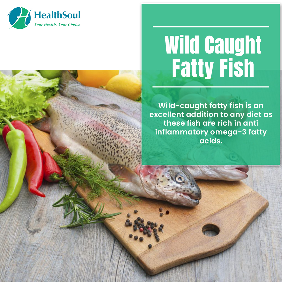 Wild Caught Fatty Fish | HealthSoul