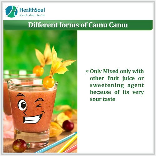 Different Forms of Camu Camu | HealthSoul