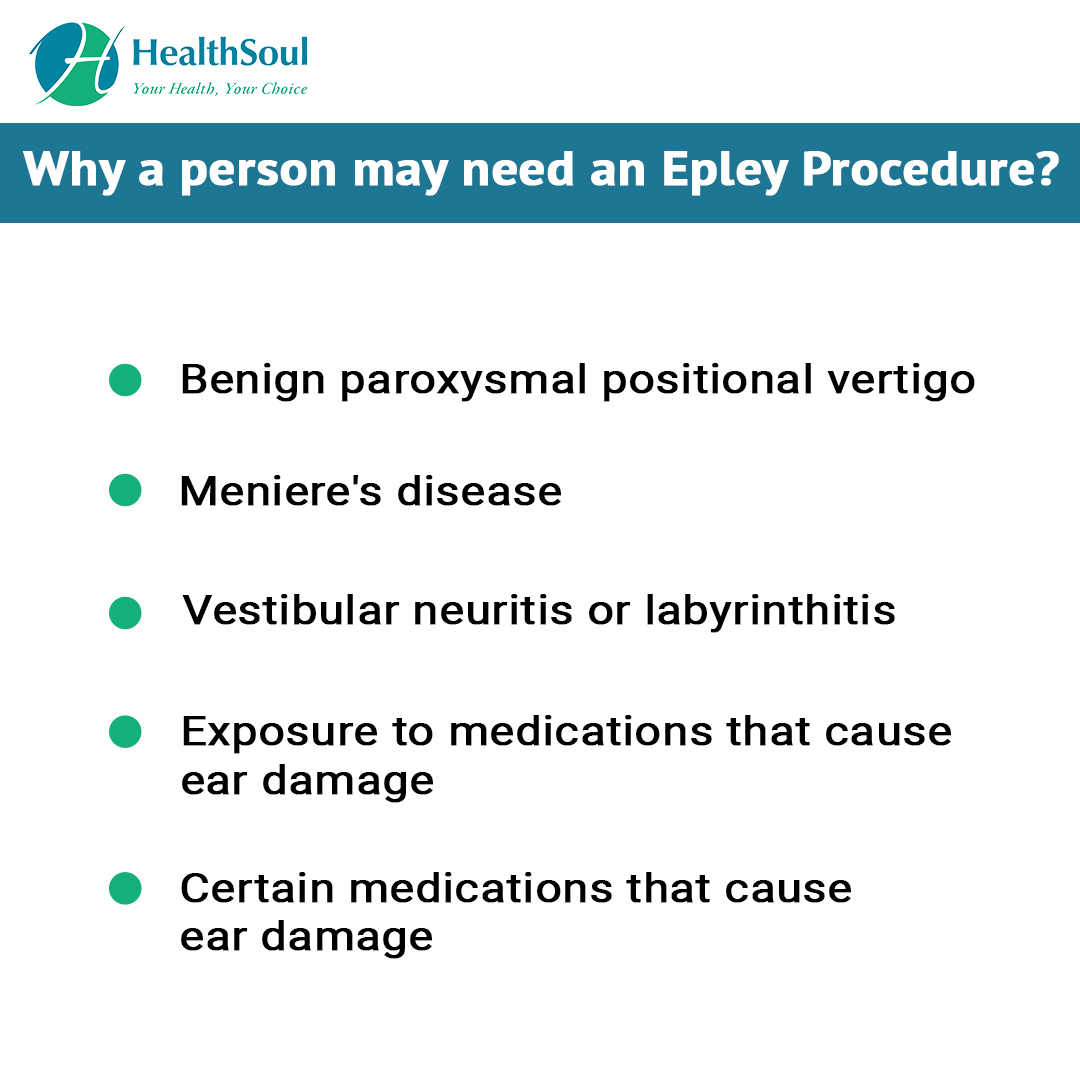 Why a Person may need an Epley Procedure?