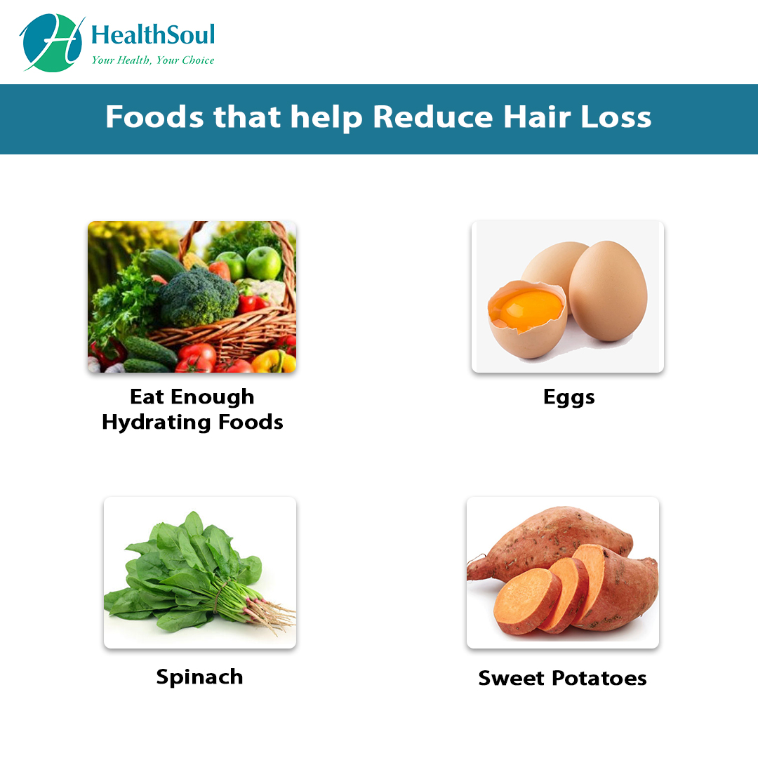 Foods That help to reduce Hair Loss