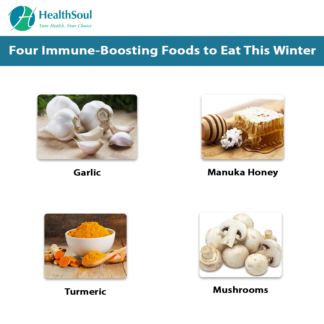 Four Immune-Boosting Foods to Eat This Winter
