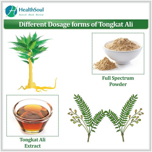Different Dosage forms of Tongkat Ali   HealthSoul